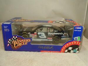 2000 HASBRO NASCAR WINNER'S CIRCLE DALE EARNHARDT OREO #3 1:24 #55830 BLACK CAR