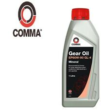 1L Comma Minérale Huile Transmission EP80W-90 GL-4