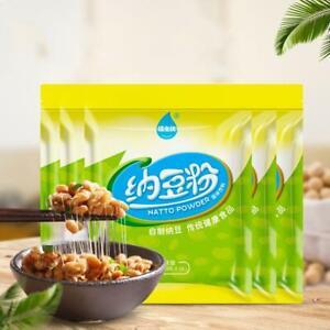 5/10x Organic Natto Starter -Cultures for Health Bacillus Subtilis -Home Use 10g
