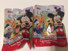 Set 2 Disney Junior Mickey Mouse Clubhouse Figures Pilot Mickey Postman Donald