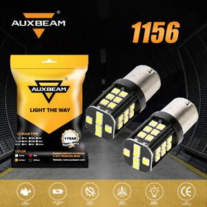 AUXBEAM P21W 1156 LED Back Up Light Bulb for BMW M3 320i 325i 750iL 328i 318i X3