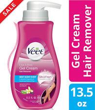 Veet Sensitive Gel Hair Removal Cream With Aloe Vera And Vitamin E 13.5 Ounce