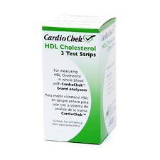 CardioChek HDL Cholesterol Test Strips 3 Ea, Expiration: 04/09/2018