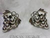 Suffragette Farben 925 Ohrringe Fw Perlen /& Vintage Malachit Amethyst