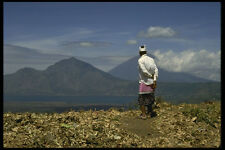 202000 Mt Batur Mt Abang And Mt Agung A4 Photo Print