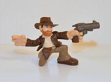 """2008 Indiana Jones w/ Gun & Hat 2.25"""" Hasbro Adventure Heroes Action Figure"""