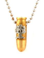 Israeli Army Bullet Bronze Pendant - Golani Symbol
