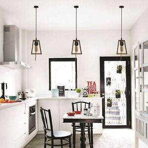 Retro Vintage Style Modern Design Lamp Metal Ceiling Hanging Pendant Light Shade