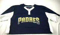 Majestic San Diego Padres Cool Base Jersey Shirt SS Men Sz XL Warm Up Train #12