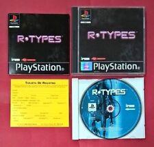 R-TYPES - PSX - PS1 - PLAYSTATION - USADO - EN MUY BUEN ESTADO
