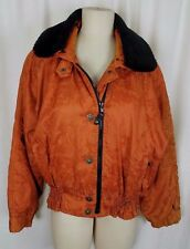 Vintage Obermeyer Euromantic Ski Winter Parka Jacket Womens 10 Retro 80s 90s