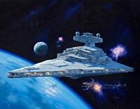 Vaisseau spatial IMPERIAL STAR DESTROYER, STARS WAR - KIT REVELL 1/2700 n° 06719