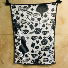 Alice in Wonderland black coral fuzzy Blankets anime quilt rug blankets new