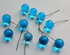 20pcs aqua round glass ball 11mm cherry drop hanging for chandelier lamp parts