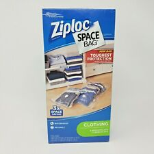 Ziploc Space Bag 3 Large 2 Medium Flats Reduce Storage Needs