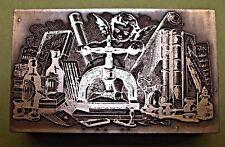 """Libro De Metal encantador """"prensa"""" bloque de impresión."""
