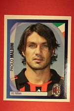 PANINI CHAMPIONS LEAGUE 2007/08 N. 15 MALDINI MILAN WITH BLACK BACK MINT!!