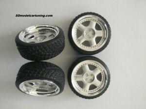 1:18 Scale Universal SCHMIDT REVOLUTION 15 INCH wheelset NEW!