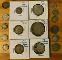 Premium Lot Of World Silver Coins