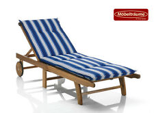 gartenm bel auflagen gartenliege deckchair ebay. Black Bedroom Furniture Sets. Home Design Ideas