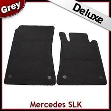 Tailored Carpet Mats LUXURY 1300g for MERCEDES SLK R171 2004-2011 GREY