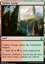 Timber Gorge X4 NM Oath of the Gatewatch MTG Magic Cards Land Uncommon
