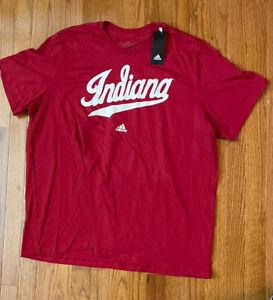 Men's Indiana Hoosiers adidas Amplifier Short Sleeve Shirt NWT 2XL