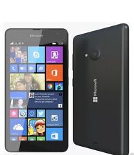 Brand NEW NOKIA LUMIA 535 DUAL SIM NERO 8GB WINDOWS 8.1 * Sblocca * Smart Phone 5 ""