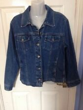 Gap Button Patternless Denim Coats & Jackets for Women