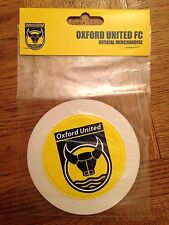 Oxford United F.C - Round Car Tax Disc / Permit Holder - Official Merchandise