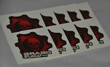 RARE Promo 10 GEARS OF WAR (Original) Stick On Tattoos OMEN Logo GOW 1 I xbox