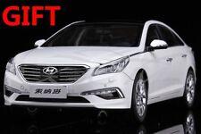 Diecast Car Model 2015 Hyundai All New Sonata 9 LF 1:18 (White) + SMALL GIFT!!!!