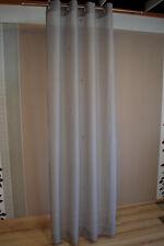 JOOP! Gardine Vorhang Nola 010 Hellgrau 140x250 cm Grau Fertigschal