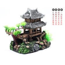 Fish Tank Ornaments Aquarium Ruins Decorations Castle China Ancient Architecture