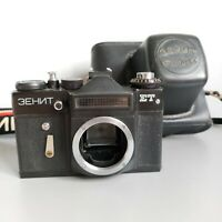 Camera ZENIT - ET Black USSR Soviet - body only