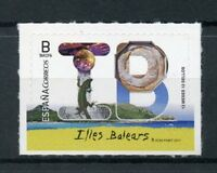 Spain 2017 MNH Illes Balears Balearic Isl 12 Months 12 Stamps 1v S/A Set Tourism