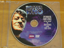 Doctor Who Spearhead From Space Se Story No. 51 Dvd 2012 Pertwee R1 *Disc Only*