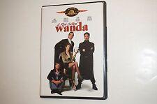 A Fish Called Wanda (DVD, 1999) John Cleese, Jamie Lee Curtis Used