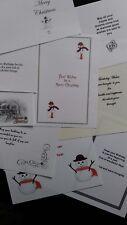 100 Birthday/Christmas inserts for handmade cards