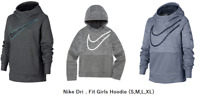 Nike Dri-Fit Girls Hoodie (S,M,L,XL) Regular-$45