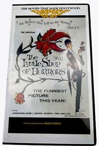 The Little Shop Of Horrors Jack Nicholson VHS Video Cassette PAL PG