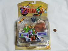 NEW Zelda Ocarina of Time Sword Swinging Action Link Figure w/ Epona Toy SEALED