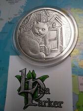 Anonymous Mint  LISA PARKER WHAT... 5 Oz silver 999  Antique