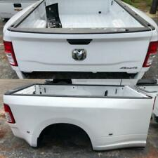 2010-2019 Dodge Ram 3500 Dually 8FT Truck Bed Box Tailgate Takeoff Bumper WHITE