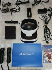 Sony PlayStation VR Bundle | PSVR Blood and truth ,New Iron man. Barely used