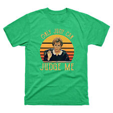 Judy Sheindlin Only Judy Can Judge Me Retro Vintage Sunset Men's Red T-Shirt
