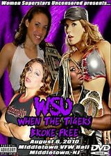 WSU Womens Wrestling - When The Tigers Broke Free DVD Mickie James Awesome Kong