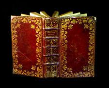 [Reliure plein maroquin LITURGIE ORNE SEES - Imp. FALAISE] Heures nouvelles 1761