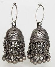 Antique Orient nomades Boucles d'oreilles afghan tribal Kuchi tussles vintage earring 17/17