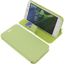 Tasche für Acer Liquid Z6E Book-Style Schutz Hülle Handytasche Buch Grün